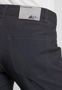 Houdini - WAY TO GO PANTS - Spodnie materiałowe - rock black - 5