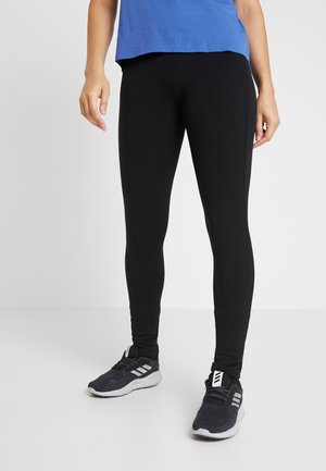LONG POWER TIGHTS - Leggings - true black