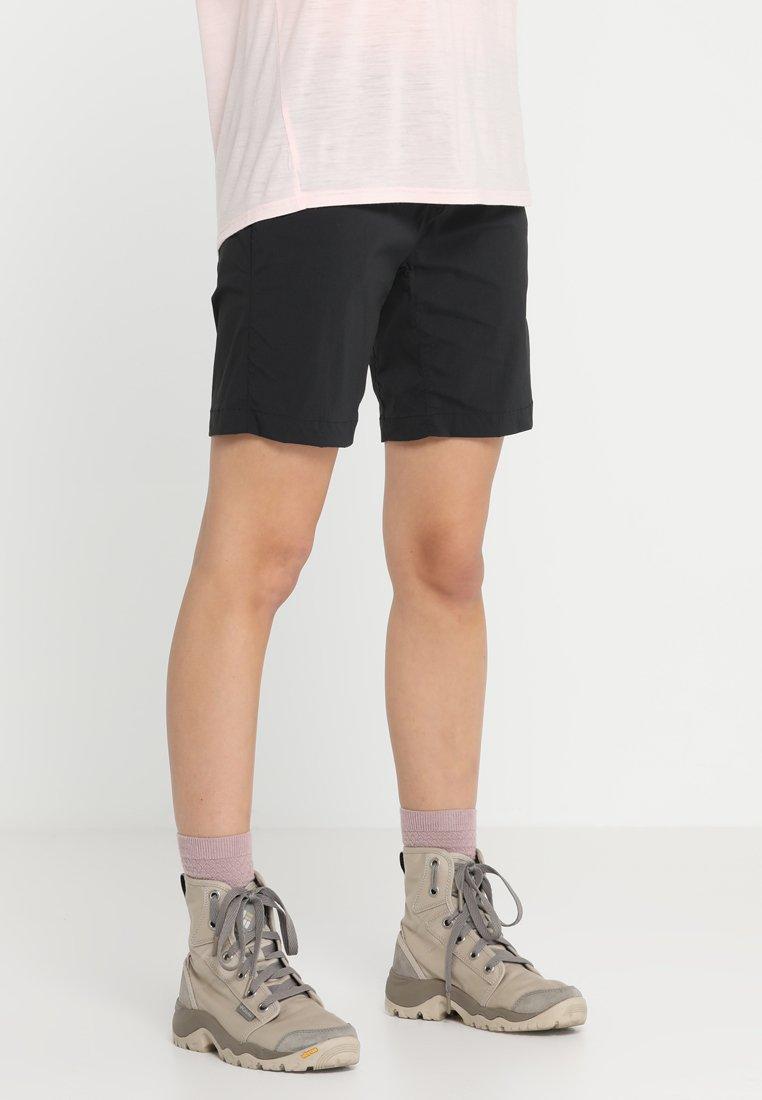 Houdini - LIQUID ROCK - Pantalones montañeros cortos - rock black