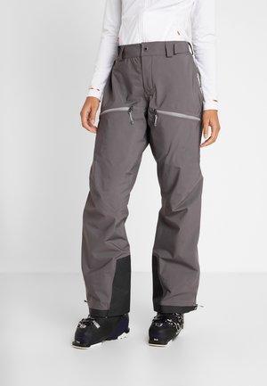 PURPOSE PANTS - Snow pants - wolf grey
