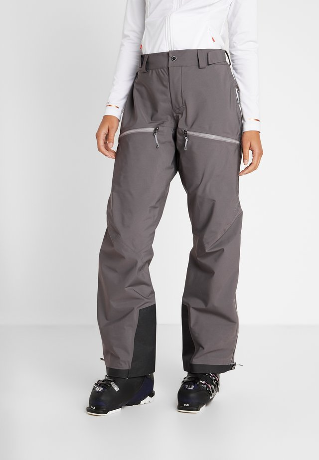 PURPOSE PANTS - Pantaloni da neve - wolf grey