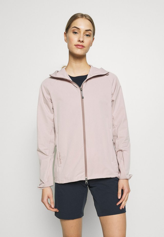 DAYBREAK JACKET - Softshelljacka - powder pink