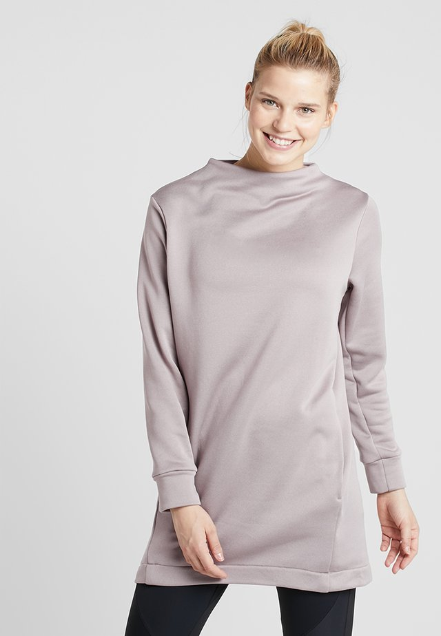 ANGIE TUNIC - Sweatshirts - sky purple