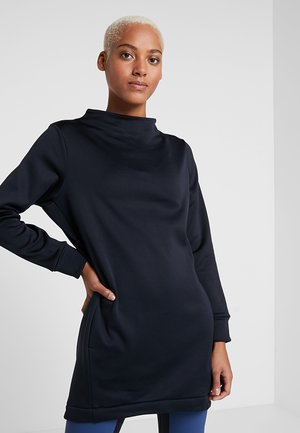 ANGIE TUNIC - Sweatshirt - true black