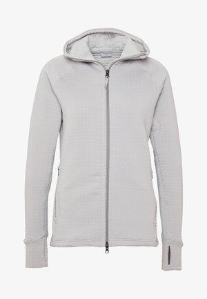 POWER AIR HOUDI - Zip-up hoodie - ground grey