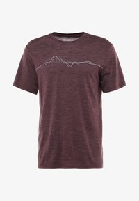 Houdini - ACTIVIST MESSAGE TEE - Print T-shirt - last round red - 5