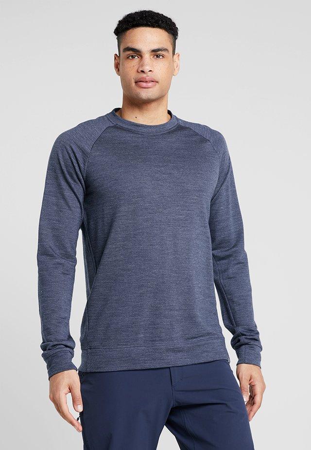CAMPUS CREW - Maglietta a manica lunga - bucket blue