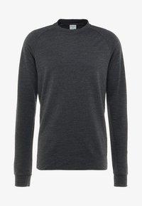 Houdini - CAMPUS CREW - Langærmede T-shirts - true black - 4