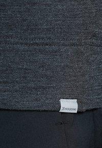 Houdini - CAMPUS CREW - Langærmede T-shirts - true black - 5