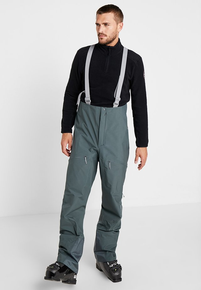ROLLERCOASTER PANTS - Pantaloni da neve - deeper green