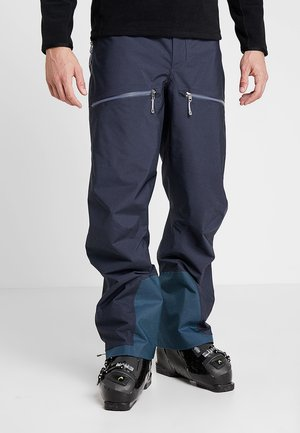 PURPOSE PANTS - Täckbyxor - bucket blue