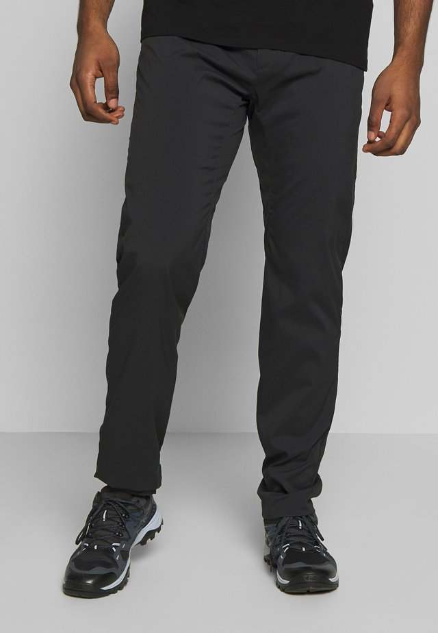 LIQUID ROCK PANTS - Pantaloni outdoor - rock black