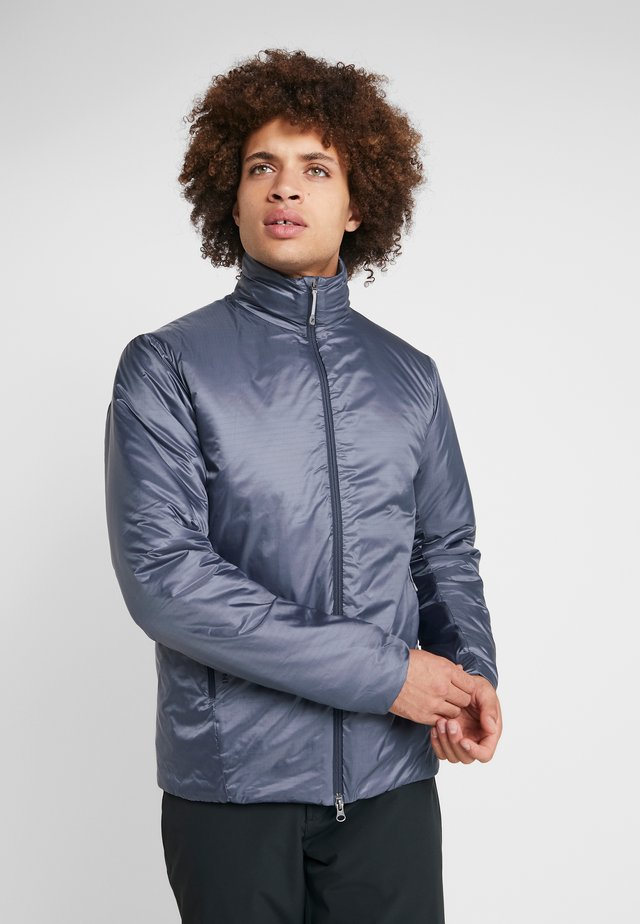 UP JACKET - Snowboardová bunda - spokes blue