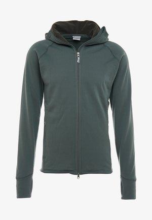 POWER HOUDI - Fleecová bunda - deeper green