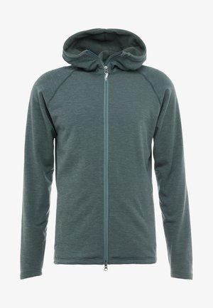 OUTRIGHT HOUDI - Fleecová bunda - gust green