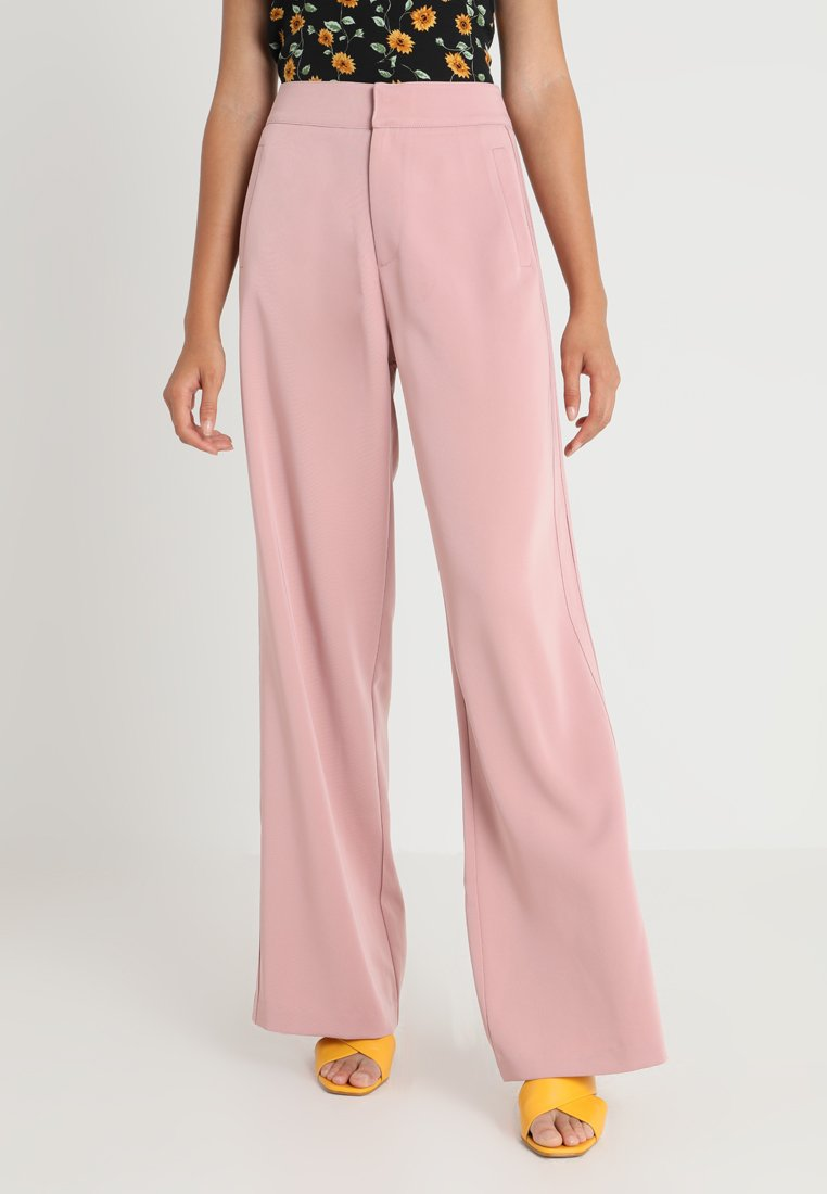 Honey Punch - STRIPE TONE PANT - Trousers - blush