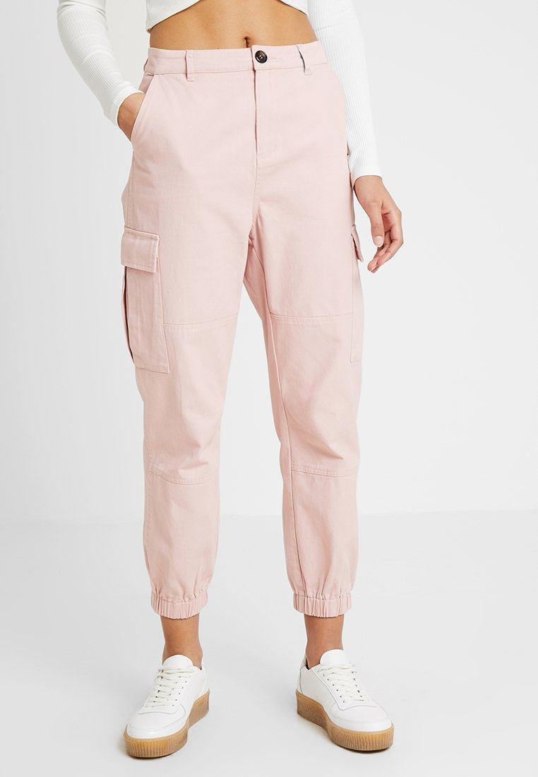 Honey Punch - CARGO - Stoffhose - pink