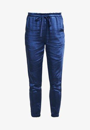 DRAW STRING PANT - Kalhoty - navy