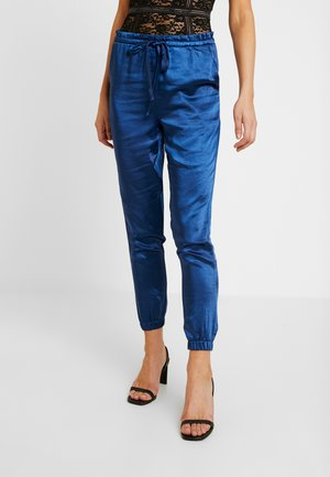 DRAW STRING PANT - Bukse - navy