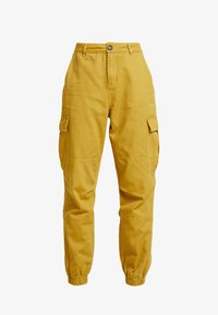 Honey Punch - JOGGER PANTS WITH - Bukse - mustard - 5