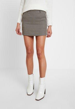 Mini skirt - yellow