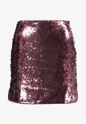 SKIRT - Miniskjørt - pink