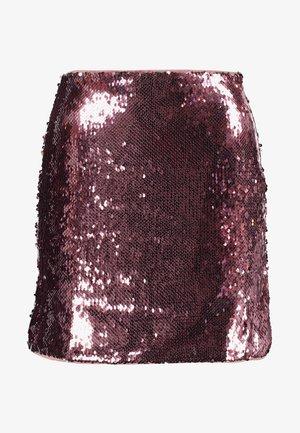 SKIRT - Minijupe - pink
