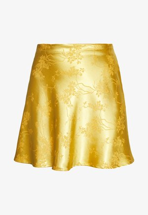 CIRCL - A-line skirt - gold