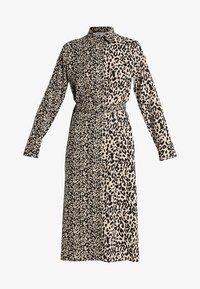 Honey Punch - MIXED ANIMAL PRINT SHIRT DRESS - Maxikleid - black - 3
