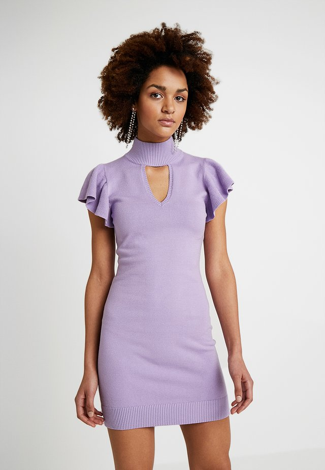 BODYCON DRESS - Pouzdrové šaty - lavender
