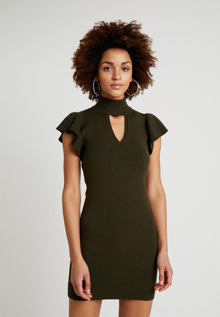 Honey Punch - BODYCON DRESS - Etuikleid - olive