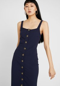 Honey Punch - TANK MIDI DRESS - Etuikjole - navy - 4