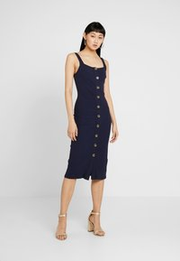 Honey Punch - TANK MIDI DRESS - Etuikjole - navy - 2