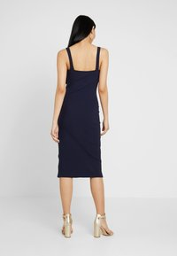 Honey Punch - TANK MIDI DRESS - Etuikjole - navy - 3