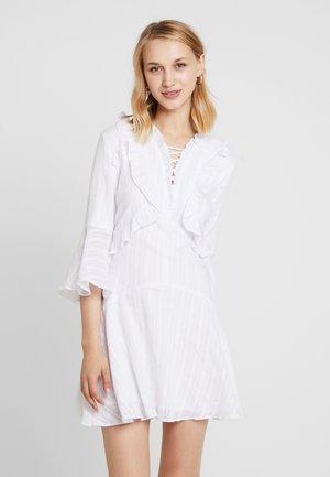 BELL SLEEVE DRESS - Vestito estivo - white