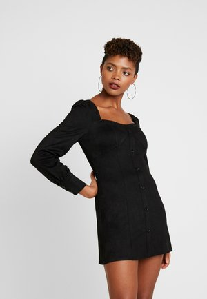 CUPPED MIK MADE DRESS - Kotelomekko - black