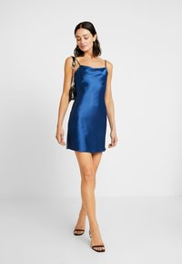 Honey Punch - STRAP DRESS - Cocktailkleid/festliches Kleid - navy - 2