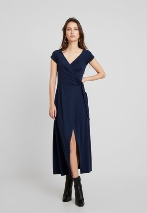 DRESS - Vestido largo - navy