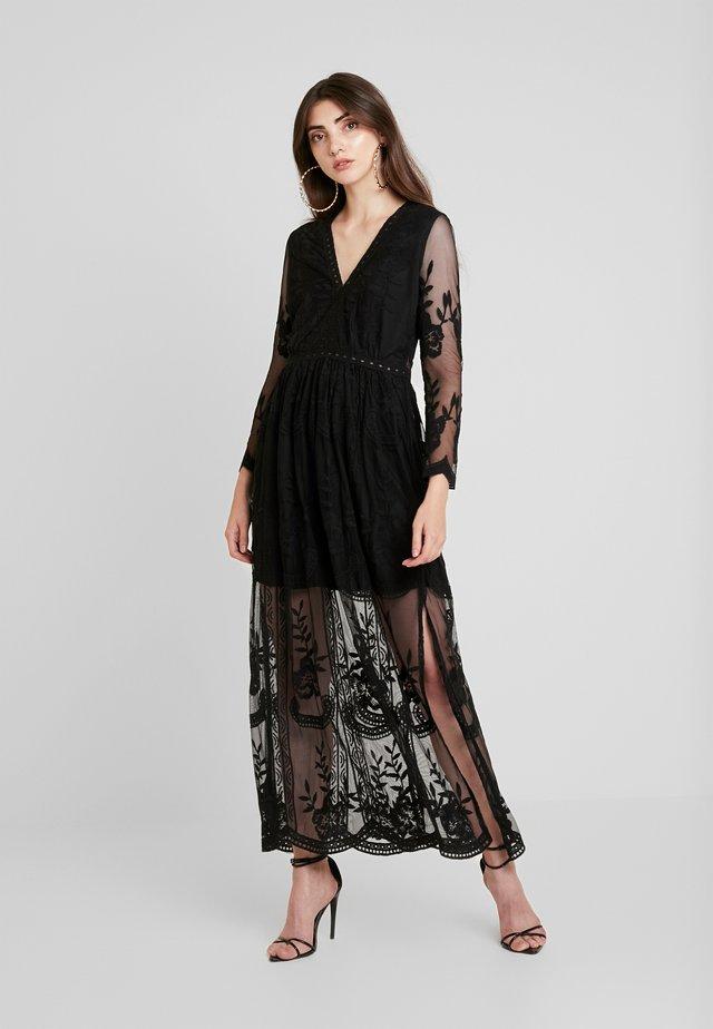 LONG SLEEVE DRESS - Długa sukienka - black