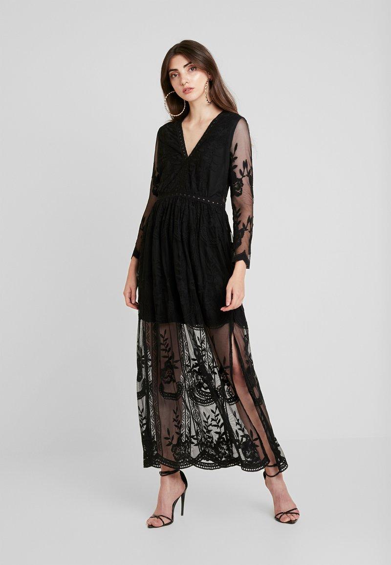 Honey Punch - LONG SLEEVE DRESS - Vestito lungo - black