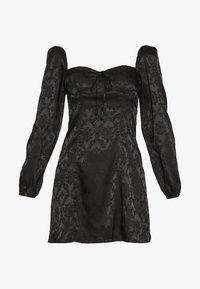 Honey Punch - MINI DRESS - Cocktailklänning - black - 4