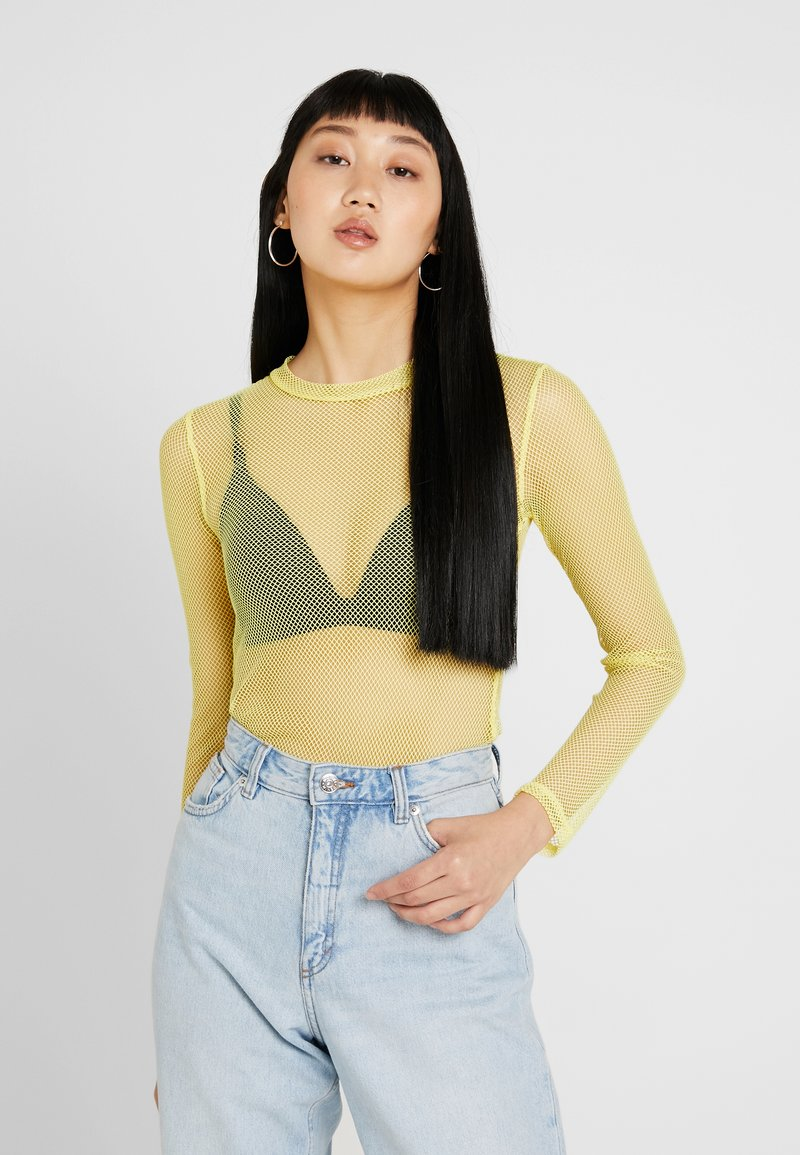 Honey Punch - Long sleeved top - bright yellow