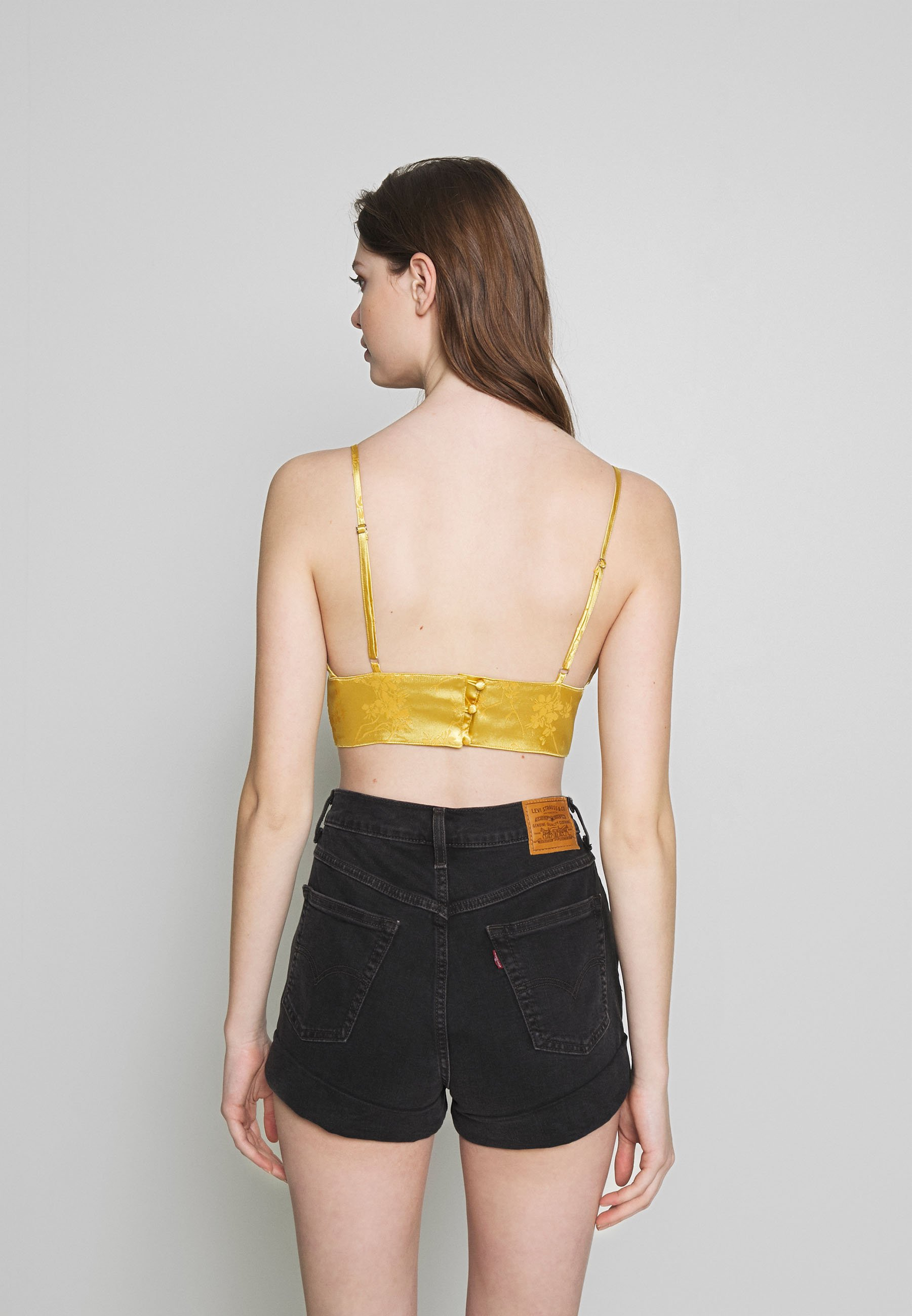 Honey Punch Top - gold