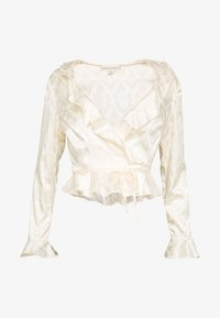 Honey Punch - RUFFLE - Blouse - cream - 4