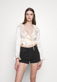 Honey Punch - RUFFLE - Blouse - cream - 0