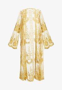 Honey Punch - MAXI KIMONO - Lehká bunda - yellow - 3