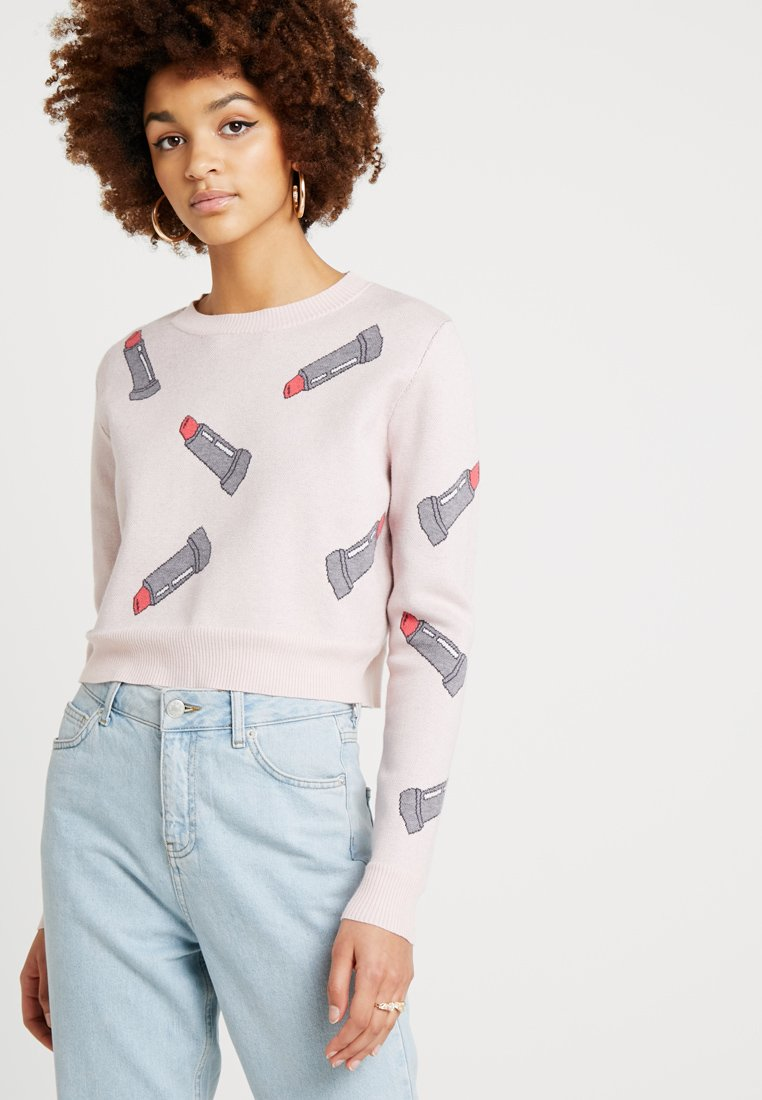 Honey Punch - MACRO LIPSTICK - Strickpullover - pink