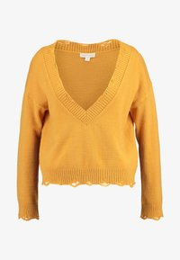 Honey Punch - VJUMPER CROPPED - Maglione - mustard - 4