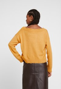 Honey Punch - VJUMPER CROPPED - Maglione - mustard - 2