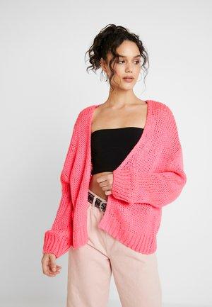 CARDI - Cardigan - neon pink